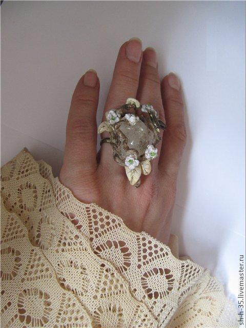 """Кольца ручной работы. Ярмарка Мастеров - ручная работа. Купить Кольцо """"Поющая солнцу"""". Handmade. Птица, кольцо с птицей"""