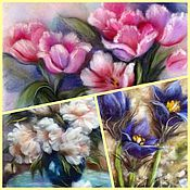 Материалы для творчества handmade. Livemaster - original item A course of 3 lessons, the flowers, the price to 20.05!. Handmade.