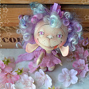 Куклы и игрушки ручной работы. Ярмарка Мастеров - ручная работа Пион души моей. Горошинка для самых прекрасных несерьезных тетенек. Handmade.
