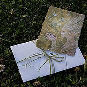 Открытки ручной работы. Ярмарка Мастеров - ручная работа Открытки ручной работы Травяные. Handmade.