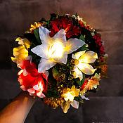 handmade. Livemaster - original item Bouquet lamp