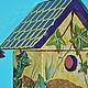 Экстерьер и дача ручной работы. Заказать Набор декоративных садовых скворечников.. Ольга Кухаренко. Ярмарка Мастеров. Декупаж