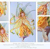 """Картины и панно ручной работы. Ярмарка Мастеров - ручная работа Мк """"Леди Нарцисс"""". Handmade."""
