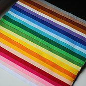 Мягкий корейский фетр набор 24 цвета