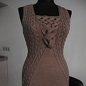 Одежда ручной работы. Ярмарка Мастеров - ручная работа Платье,сарафан,жилет из шерсти. Handmade.