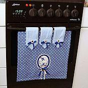 Для дома и интерьера handmade. Livemaster - original item APRON/screen ON the OVEN - stylish kitchen accessories. Handmade.