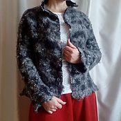 """Одежда ручной работы. Ярмарка Мастеров - ручная работа Жакет """"Серебряное руно"""". Handmade."""