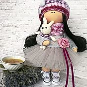 Тильда Зверята ручной работы. Ярмарка Мастеров - ручная работа Нежная интерьерная куколка. Handmade.