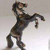 """Куклы и игрушки ручной работы. Ярмарка Мастеров - ручная работа Статуэтка """"Конь-огонь""""(бронза). Handmade."""