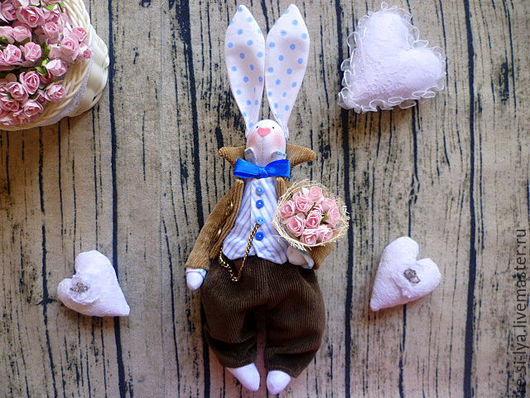 Куклы Тильды ручной работы. Ярмарка Мастеров - ручная работа. Купить Заяц тильда,тильда заяц,кролик тильда,Пасхальный заяц.. Handmade.