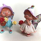 Куклы и игрушки ручной работы. Ярмарка Мастеров - ручная работа Ганс и Миа. Handmade.