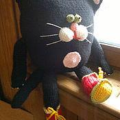 """Куклы и игрушки ручной работы. Ярмарка Мастеров - ручная работа игрушка-подушка"""" Котя"""". Handmade."""