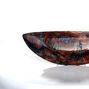 """Украшения ручной работы. Ярмарка Мастеров - ручная работа Кольцо """"Крейзи"""" натуральный камень агат 18 размер. Handmade."""