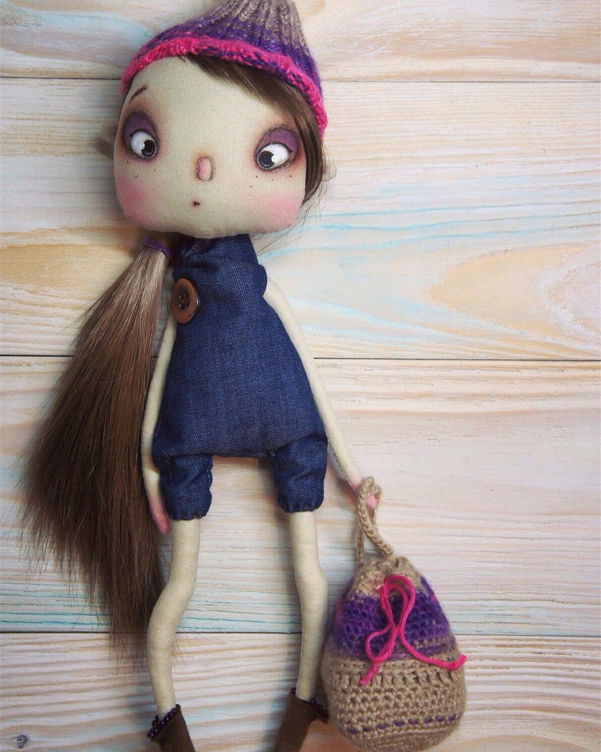 Грунтовка для текстильной куклы