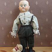 Куклы и игрушки ручной работы. Ярмарка Мастеров - ручная работа Кукла-мальчик Женька. Репродукция кукол Izannah Walker.. Handmade.
