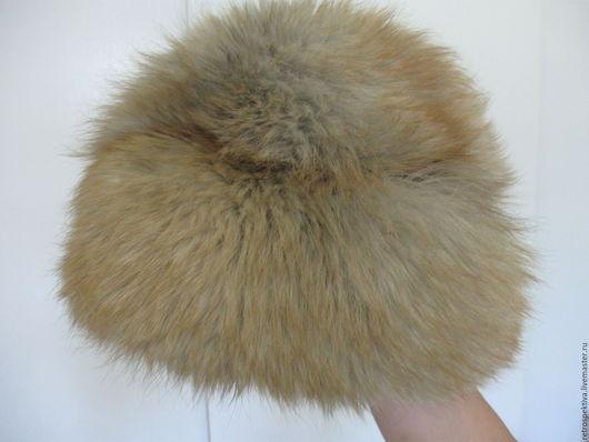 """Винтажная одежда и аксессуары. Ярмарка Мастеров - ручная работа. Купить Шапка меховая """"Лиса"""". Handmade. Комбинированный, натуральный, шапка, лиса"""