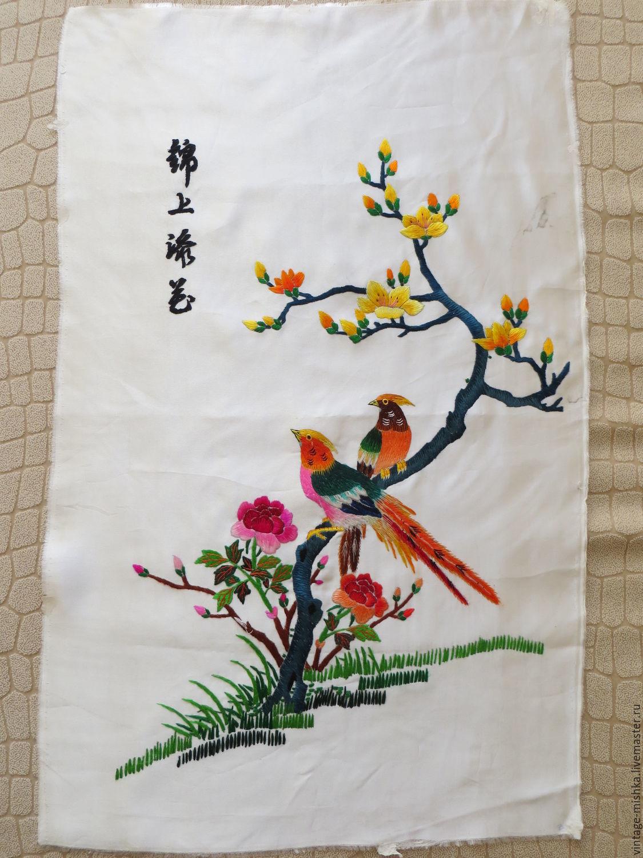 Вышивка японской мастерицы