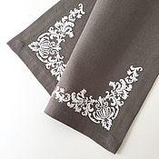 Для дома и интерьера handmade. Livemaster - original item Cloth under hot embroidered