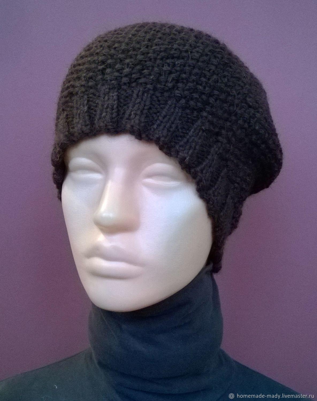 583f6b7b7ae Hats handmade. Livemaster - handmade. Buy Hat CHOCOLATE camel 100% wool%.
