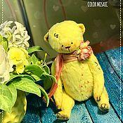 Куклы и игрушки ручной работы. Ярмарка Мастеров - ручная работа Мишка Тедди Цветная мозаика.. Handmade.