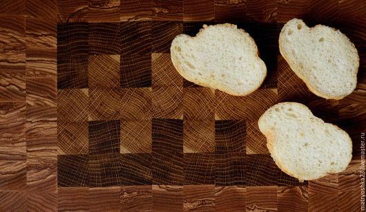 Кухня ручной работы. Ярмарка Мастеров - ручная работа. Купить торцевая разделочная доска. Handmade. Коричневый, разделочная доска