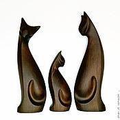Для дома и интерьера handmade. Livemaster - original item Sculpture of a cat