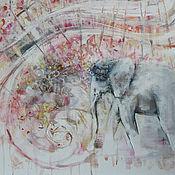 Картины и панно ручной работы. Ярмарка Мастеров - ручная работа Радость приносящий. Handmade.