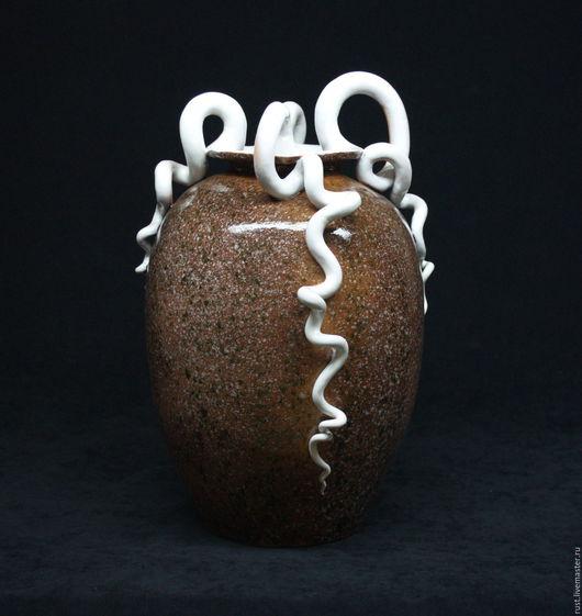 Вазы ручной работы. Ярмарка Мастеров - ручная работа. Купить ваза Бела. Handmade. Ваза для цветов, ручная лепка, керамика