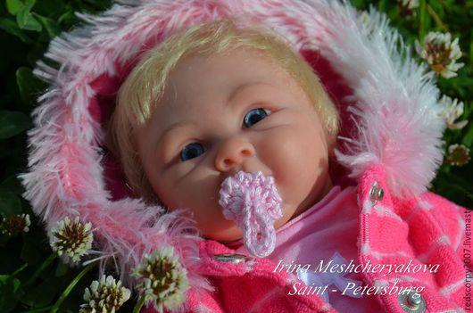 Куклы-младенцы и reborn ручной работы. Ярмарка Мастеров - ручная работа. Купить мини-реборн Клер. Handmade. Бледно-розовый