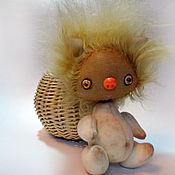 Куклы и игрушки ручной работы. Ярмарка Мастеров - ручная работа Домовёнок Кузя. Handmade.