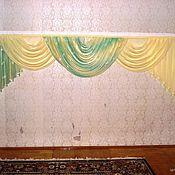 Для дома и интерьера ручной работы. Ярмарка Мастеров - ручная работа Ламбрекен. Handmade.
