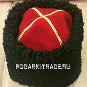 Аксессуары handmade. Livemaster - original item Black Cossack hat. Handmade.