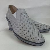 Обувь ручной работы. Ярмарка Мастеров - ручная работа летние мужские ботинки. Handmade.