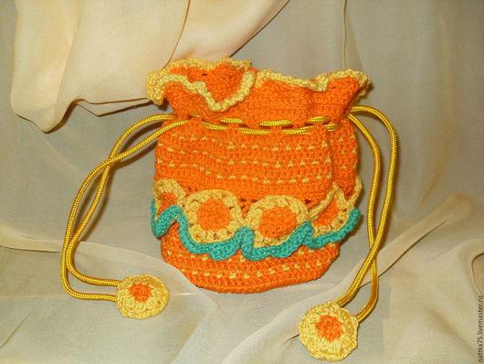 Детские аксессуары ручной работы. Ярмарка Мастеров - ручная работа. Купить Детские сумочки мешочки. Handmade. Комбинированный