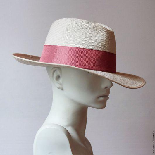 Шляпы ручной работы. Ярмарка Мастеров - ручная работа. Купить Шляпа летняя из хлопка.. Handmade. Бежевый, летняя шляпа