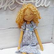 Куклы и игрушки ручной работы. Ярмарка Мастеров - ручная работа Текстильная кукла Зои. Handmade.