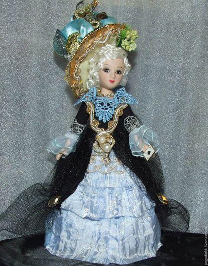 Коллекционные куклы ручной работы. Ярмарка Мастеров - ручная работа. Купить Пиковая Дама -  20см - в оригинальном костюме. Handmade. комбинированный
