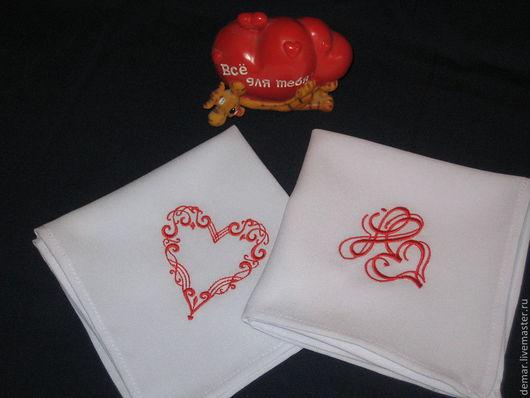 """Кухня ручной работы. Ярмарка Мастеров - ручная работа. Купить Салфетка """"Сердце"""". Handmade. Сердце, день влюбленных"""
