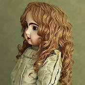Одежда для кукол ручной работы. Ярмарка Мастеров - ручная работа Натуральный парик для куклы. Handmade.