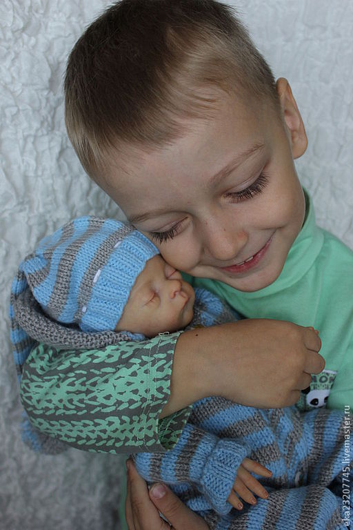 Куклы-младенцы и reborn ручной работы. Ярмарка Мастеров - ручная работа. Купить Рома,Ромочка,лимитка. Handmade. Бежевый, генезис