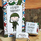 Сувениры и подарки handmade. Livemaster - original item Sweet postcard