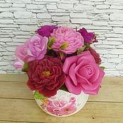 Косметика ручной работы handmade. Livemaster - original item a bouquet of gift soap.. Handmade.