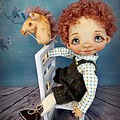 Куклы и игрушки ручной работы. Ярмарка Мастеров - ручная работа Андрюшка. Текстильная кукла. Handmade.