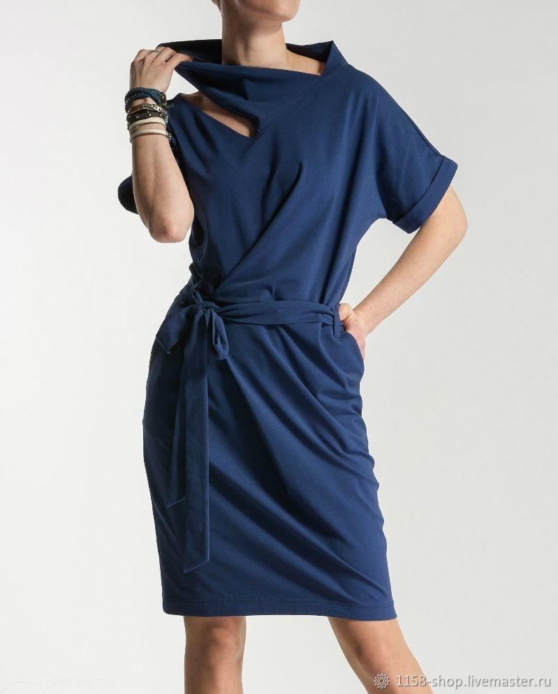4670559f092 Платья ручной работы. Ярмарка Мастеров - ручная работа. Купить  Ассиметричное платье №2.