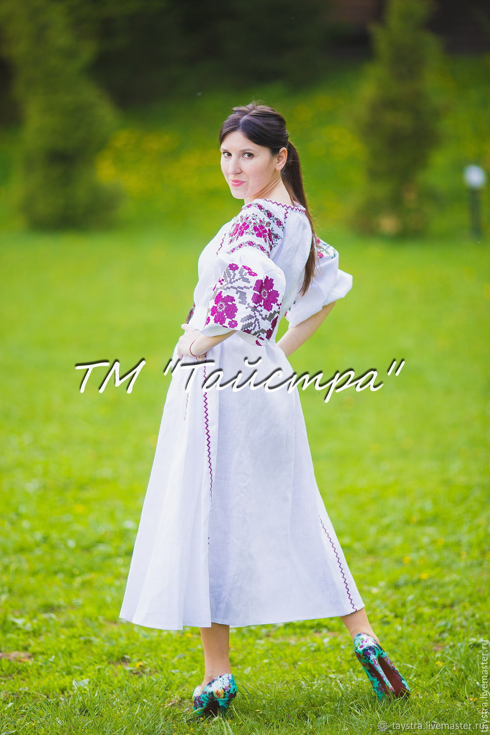 Еmbroidered dress boho, embroidered style, Bohemian, ethnic, Dresses, Chernovtsy,  Фото №1