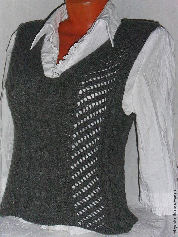 Vest grey, Vests, Saratov,  Фото №1