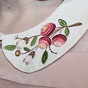 Аксессуары ручной работы. Ярмарка Мастеров - ручная работа воротничок с вышивкой. Handmade.