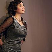 Одежда ручной работы. Ярмарка Мастеров - ручная работа Платье «Марго». Handmade.