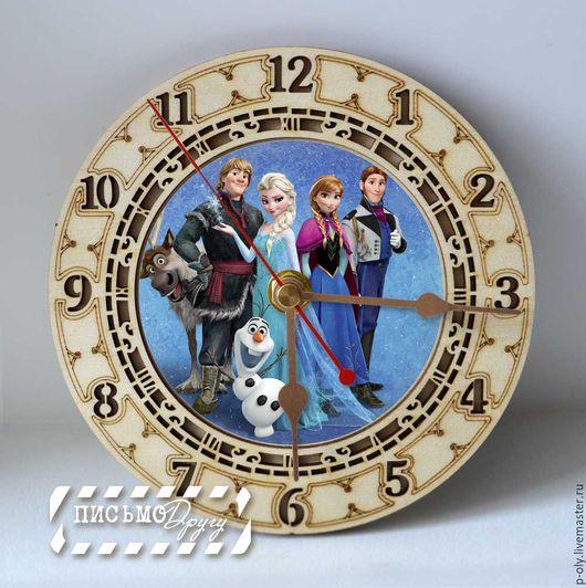 Часы для дома ручной работы. Ярмарка Мастеров - ручная работа. Купить Часы. Handmade. Комбинированный, дерево