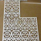 Для дома и интерьера handmade. Livemaster - original item The partition is openwork with a cutout.. Handmade.